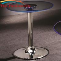LED Transitioning LED End Table with Chrome Base by Coaster Furniture