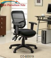 Office Chairs Contemporary Mesh Office Task Chair by Coaster Furniture