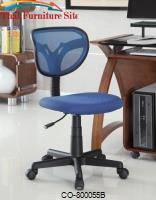 Office Chairs Mesh Adjustable Height Task Chair by Coaster Furniture