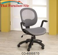 Office Chairs Adjustable Height Office Chair by Coaster Furniture