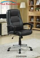 Office Chairs Executive Office Chair with Adjustable Seat Height by Coaster Furniture