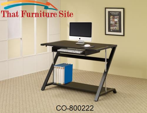 Desks Contemporary Computer Desk by Coaster Furniture  | Austin