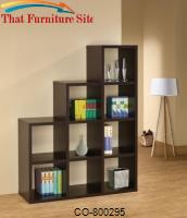 Bookcases Cube Bookshelf by Coaster Furniture
