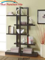 Bookcases Bookshelf with 5 Open Shelves by Coaster Furniture