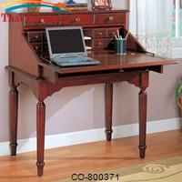 Desks Traditional Secretary Desk by Coaster Furniture