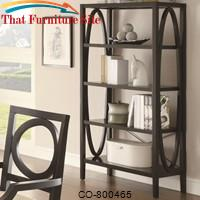 800460 Contemporary Open Bookcase by Coaster Furniture