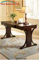 Cresta Transitional Table Desk with Keyboard Drawer by Coaster Furniture