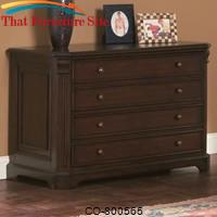 Cherry Valley Traditional File Cabinet by Coaster Furniture