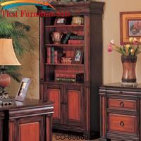 Chomedey Traditional Combination Bookcase by Coaster Furniture
