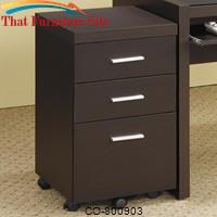 Papineau File Cabinet with 3 Drawers by Coaster Furniture