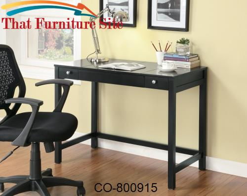 Desks Desk with Flip Top by Coaster Furniture  | Austin