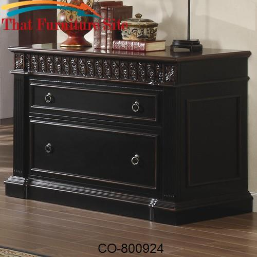 Nicolas Traditional File Cabinet by Coaster Furniture  | Austin