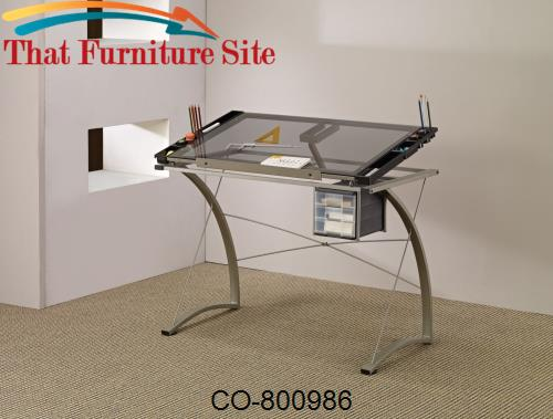 Desks Artist Drafting Table Desk by Coaster Furniture  | Austin