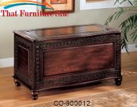 Cedar Chests Traditional Cedar Chest with Carving and Bun Feet by Coaster Furniture