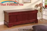 Cedar Chests Louis Philippe Style Cedar Chest by Coaster Furniture