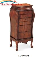 Jewelry Armoires Elegant Jewelry Armoire with 6 Drawers by Coaster Furniture