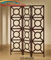 Folding Screens Circle Pattern Folding Screen by Coaster Furniture