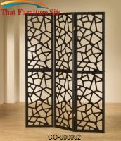 Folding Screens Intricate Mosaic Folding Screen by Coaster Furniture