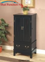 Jewelry Armoires Black Jewelry Armoire by Coaster Furniture