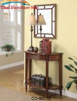 Accent Tables Accent Table, Framed Mirror & Lamp Set by Coaster Furniture