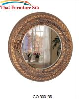 Accent Mirrors Round Mirror by Coaster Furniture