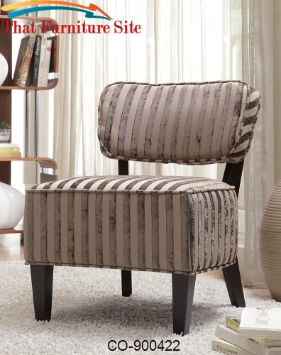 Accent  Beige  Chair by Coaster Furniture  | Austin