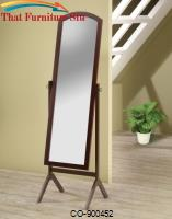 Accent Mirrors Arch Top Cheval Mirror by Coaster Furniture