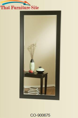 Accent Mirrors Long Floor Mirror by Coaster Furniture  | Austin
