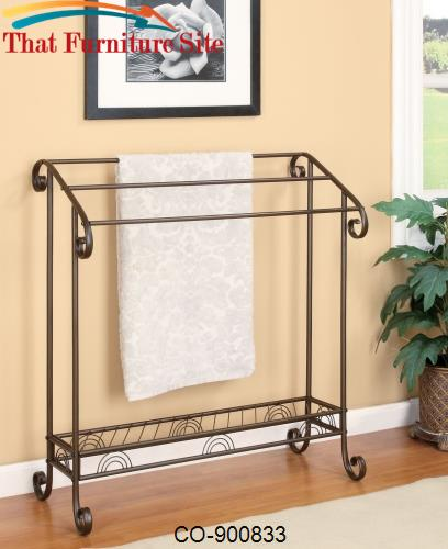 TOWEL RACK by Coaster Furniture  | Austin