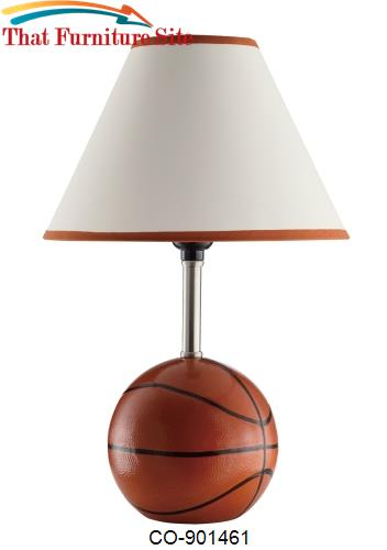 Table Lamps Basketball Table Lamp by Coaster Furniture  | Austin