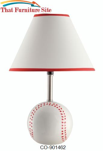 Table Lamps Baseball Table Lamp by Coaster Furniture  | Austin
