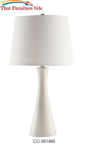 Table Lamps Ivory Ceramic Table Lamp By Coaster Furniture Austin