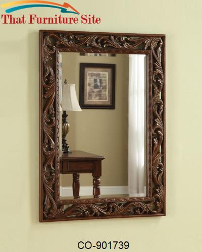 Accent Mirrors Traditional Wall Mirror