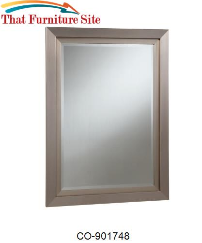 Accent Mirrors Simple Beveled Mirror by Coaster Furniture  | Austin