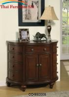 Accent Cabinets Demilune Accent Cabinet by Coaster Furniture