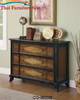 Accent Cabinets Two-Toned Accent Cabinet by Coaster Furniture