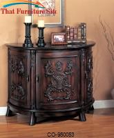 Accent Cabinets Demilune Bombe Chest by Coaster Furniture