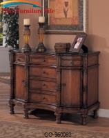 Accent Cabinets Bombe Chest with Six Drawers by Coaster Furniture