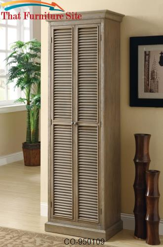 Accent Cabinets Tall Storage Cabinet With Shutter Door Fronts By Coast