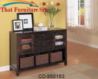Dickson Console Table with Basket Storage by Coaster Furniture