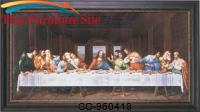 Last Supper Hand Painted Oil On Canvas by Coaster Furniture