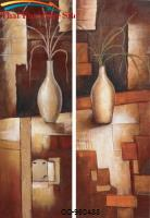 Wall  Art Autumn Table Hand Painted Oil On Canvas. (set of 2) by Coaster Furniture