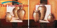 Wall  Art Pitcher and Vase (2 Piece ) by Coaster Furniture