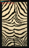 Zebra  Safari  Rug by Coaster Furniture