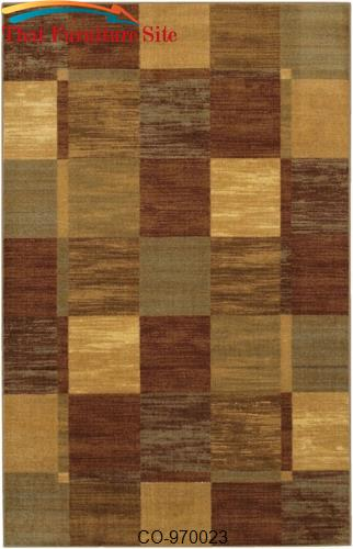 Earth Walker Rug by Coaster Furniture  | Austin