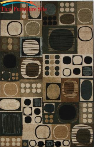 Swing Dance Neutral Rug by Coaster Furniture  | Austin