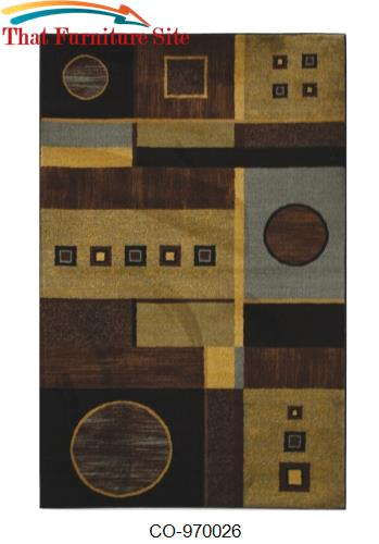 Translation  Black  Rug by Coaster Furniture  | Austin