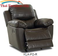 Fossil Leather Recliner by Pfc Furniture Industries