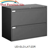 2 Drawer Lateral Cabinet by Global by Universal Discounters