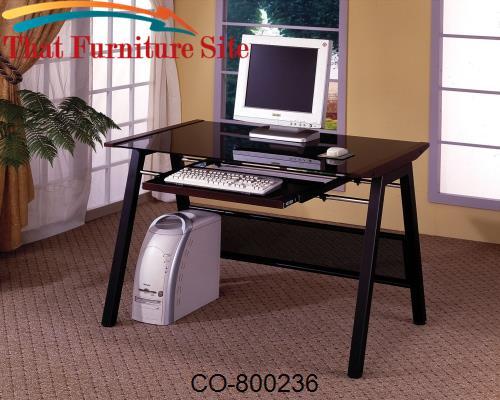 Desks Computer Desk With Keyboard Tray